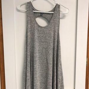 Aerie grey shift dress.